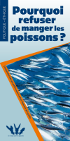 Converture brochure Pourquoi refuser de manger les poissons?